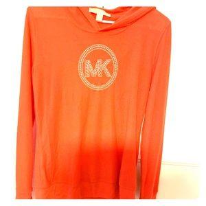 Orange Michael Kors hoodie